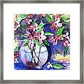 Apple Blossoms Framed Print by Sherry Harradence