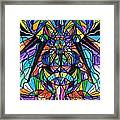 Arcturian Awakening Grid Framed Print by Teal Eye  Print Store