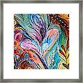Artwork Fragment 36 Framed Print by Elena Kotliarker