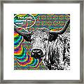 Arty Coo Really Mooved Framed Print by John Farnan
