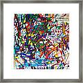 at the age of three years Avraham Avinu recognized his Creator Framed Print by David Baruch Wolk