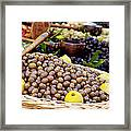 At The Market Framed Print by Brian Jannsen