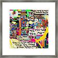 Atomic Bomb Of Purity 2b Framed Print by David Baruch Wolk