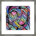 Authentic Relationship Framed Print by Teal Eye  Print Store