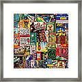 Bang Framed Print by Russell Pierce