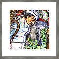 Bastille Metro No 3 Framed Print by A Morddel