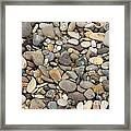 Beach Rocks Framed Print by Artist and Photographer Laura Wrede