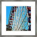 Big Wheel Framed Print by Kaye Menner