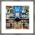 Blackbird Rear View Framed Print by Randy Scherkenbach