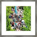 Block Party Framed Print by Jim Emmons