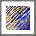 Blue Dunes Framed Print by Adam Romanowicz