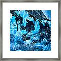 Blue Moon Framed Print by Betsy Knapp