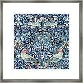 Blue Tapestry Framed Print by William Morris
