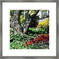 Botanical Landscape 2 Framed Print by Eunice Miller