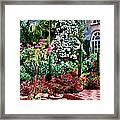 Brick Steps Framed Print by David Lloyd Glover
