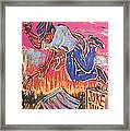Burnin' It Up Framed Print by Robert Ponzio