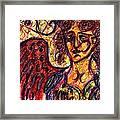 Byzantine Angel Framed Print by Rachel Scott