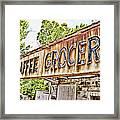 Caffee Grocery Framed Print by Scott Pellegrin