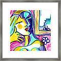 Call Me  Framed Print by Deborah jordan Sackett
