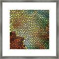 Carina Nebula Mosaic  Framed Print by Jennifer Rondinelli Reilly - Fine Art Photography