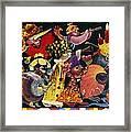 Carnival Framed Print by Nekoda  Singer