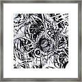 Chaotic Space Framed Print by Anastasiya Malakhova