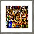 Cheers - Alcohol Galore Framed Print by David Patterson