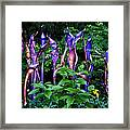 Chihuly Woods Framed Print by Diana Powell