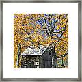 Childhood Memories Tire Swing  Framed Print by Timothy Flanigan