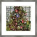 Christmas - An American Christmas Framed Print by Mike Savad