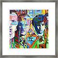 Coldplay Framed Print by Joshua Morton