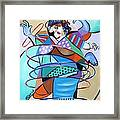 Color In Motion Framed Print by Anthony Falbo