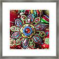Colorful Ornaments Framed Print by Garry Gay