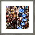 Colorful Traditional Turkish Lights  Framed Print by Leyla Ismet