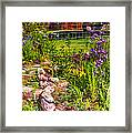 Country Garden Framed Print by Omaste Witkowski