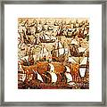 Defeat Of The Spanish Armada 1588 Framed Print by Photo Researchers