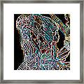 Dinka Warrior Framed Print by Gloria Ssali