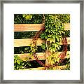 Don't Fence Me In Framed Print by Cricket Hackmann