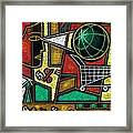 E-commerce Framed Print by Leon Zernitsky