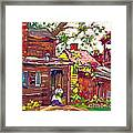 Evening Chore 1910 Framed Print by Padre Art