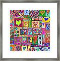 find U'r love found v6 Framed Print by Kenneth James