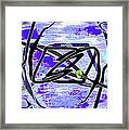 Firmament Cracked #4 - Entrapment Framed Print by Mathilde Vhargon