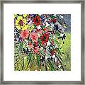 Flowers Framed Print by Shilpi Singh
