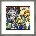 Foo Fighters Framed Print by John Ashton Golden