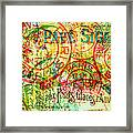 French Accent Framed Print by Bonnie Bruno