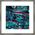 Glass Macro Abstract Rb3 Framed Print by David Patterson