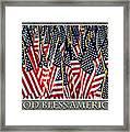 God Bless America Framed Print by Carolyn Marshall