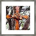 God The Father Cross Framed Print by Michael Pasko