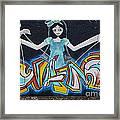 Graffiti Art Curitiba Brazil 9 Framed Print by Bob Christopher
