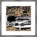 Green Monster Framed Print by Charlie Brock